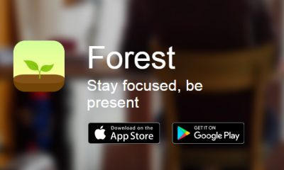 Forest: Stay focused iPhone and Android App for Concentration