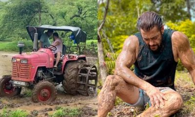 Salman Khan in Farmhouse