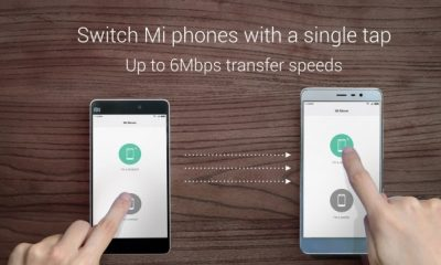 Mi Mover data transfer